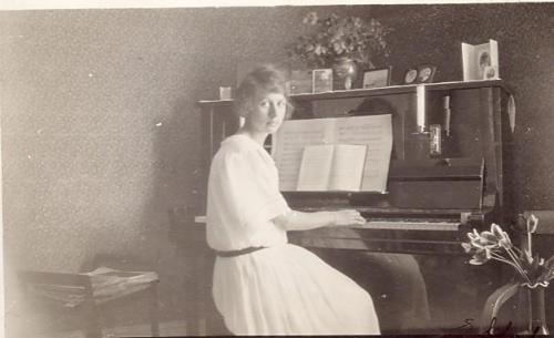 Ethel Öhlin Fotot taget1924