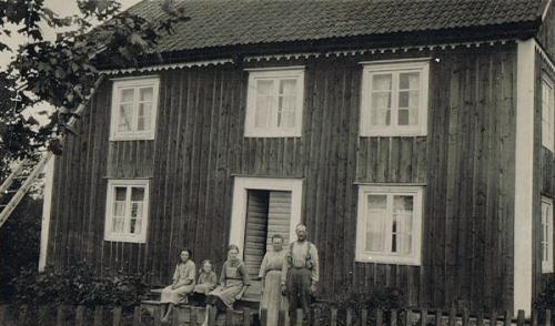 Familjen Johansson Lyckeby