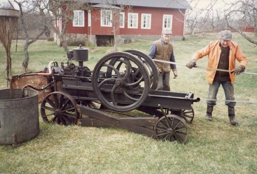 Bröderna Gösta och Erik Larsson Stackvallen
