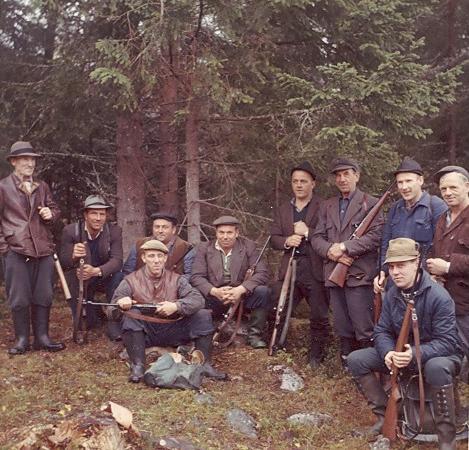 Jaktlag från Krokshult 1963