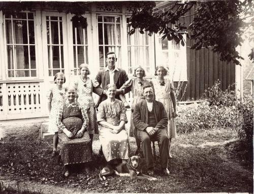 Wilhelm Nilsson familj