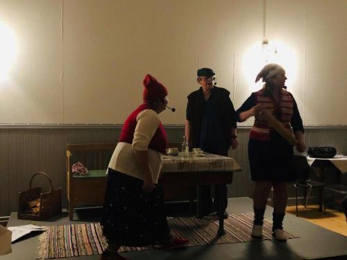 Ingvor Wigren Hagman, Veine Sjö och Else-Marie Thunberg